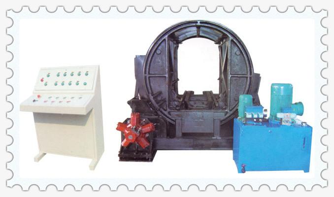 产品中心 龙工运转设备 液压翻车机--翻车机  5,配有电控操作台,上面