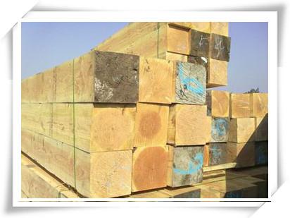 木制枕木--枕木